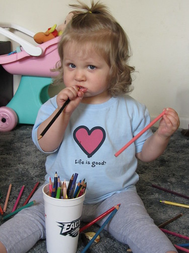 Artist in training