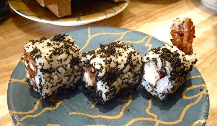soft shell crab sushi