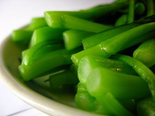 chinese Organic Choi Sum recipe