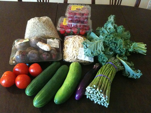 $15 Meatless Monday Groceries