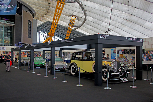Empire BIG SCREEN : Bond in Motion the cars of James Bond Exhibition by Craig Grobler