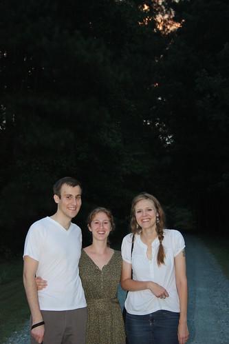 Ben, Sara and I
