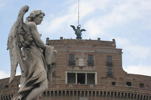 Castel Sant'Angelo – from which Tosca leaps to her death
