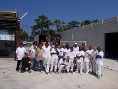 100_0193 (Apruesing) Tags: training boom scaffold painters pompanobeach fti swingstage highreach iupat ffti dc78 finishingtradesinstitute