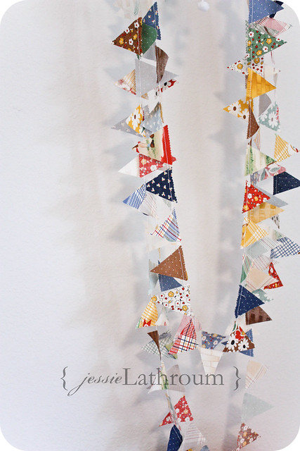 Happy Campers Mini Bunting
