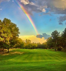 Bull Creek #8 Rainbow Teebox at Sunset (JamesWatkins) Tags: sunset summer usa abstract nature grass digital america golf georgia landscape se landscapes rainbow colorful flickr poetry unitedstates sundown artistic abstractart unitedstatesofamerica digitalart explore digitalpainting golfcourse summertime rainbows southeast abstracts poems americathebeautiful android droid poets digitalphotography bullcreek beatifulscenery digitalphotograph digitalartwork creativewriting fairways beautifulnature colorfulsunset digitalphotographs artisticexpression columbusga explored poetryandpictures columbusgeorgia beautifulpictures artandpoetry colorfulsunsets beautifulshots lightandcolors muscogeecounty jameswatkins thesoutheast artandphotography artofphotography poemsandpictures picturesandpoems beautifulrainbows peachofashot poemsandpoets muscogeecountygeorgia poemsandlandscapes poemandpoetry mindigtopponalwaysontop colorfullandscapes artandpoems landscapesandpoems landscapesandpoetry droidx bullcreekgolfcourse
