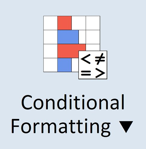 MS Excel 2010 ~ Conditional Formatting Icon