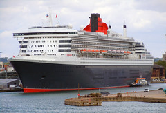 Cunard Queen Mary 2 (TRSZ) Tags: uk 2 england water britain united mary great kingdom queen gb southampton cunard