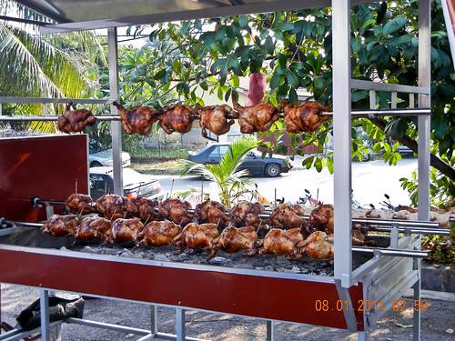 DSCN2340 Ayam Panggang ,Ramadhan bazaar , Ipoh ,Malaysia- 2011