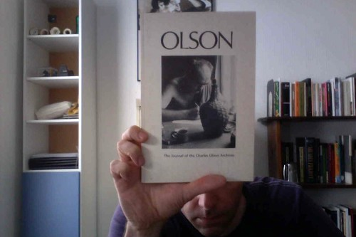 Olson: The Journal of the Charles Olson Archives, Number 6 by Michael_Kelleher