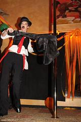 Violetta Beretta (Scotsman_in_Hawaii) Tags: themercurybar honolulu hawaii chinatown themercurywondershow professorpandemonium fundraiser kitty chow violetta beretta pamela poles waikiki acrobats angela kickuchi dneale djdogggshow chaplainlane