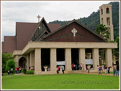 The magnificent St. Anne's Church, Bukit Mertajam