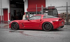 VETTE (AM Photography ) Tags: red sexy chevrolet photography am nikon american devil rims corvette v8 z06