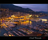 Montecarlo by night (Margall photography) Tags: night port reflections photography boat cityscape shot montecarlo monaco marco luxury notturno galletto margall