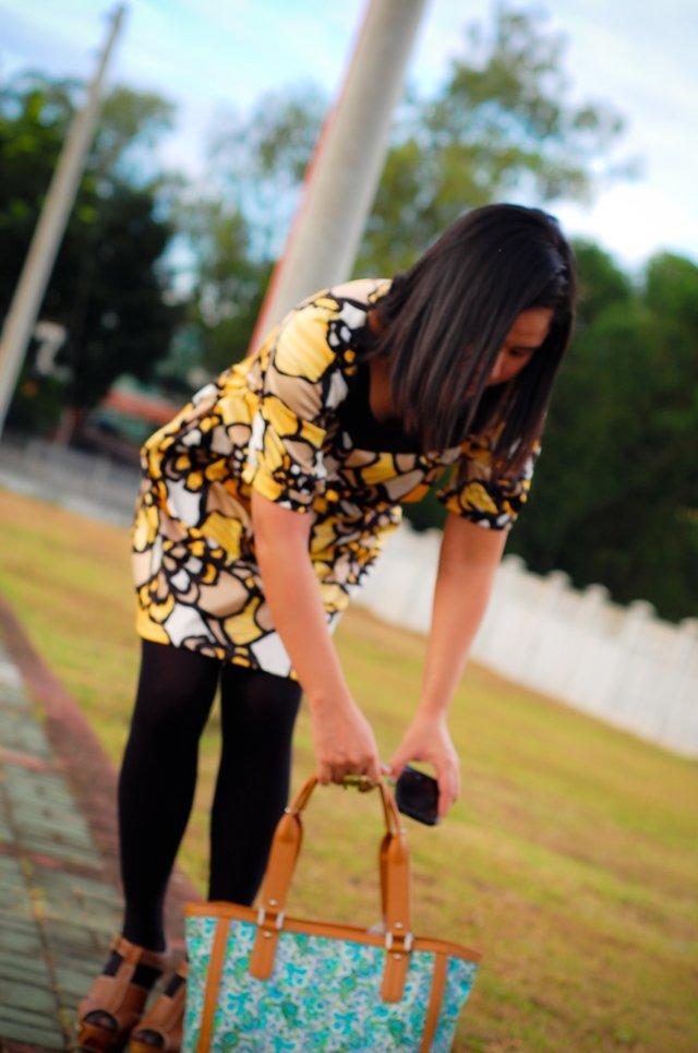 Kamiseta Printed Dress Shoe Etiquette Brown clogs SOON
