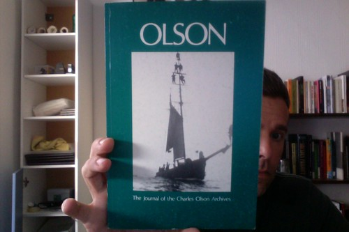 Olson: The Journal of the Charles Olson Archives, Number 7 by Michael_Kelleher