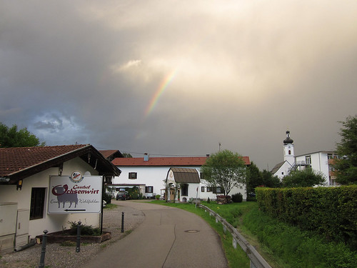 Rainbow over Oberaudorf