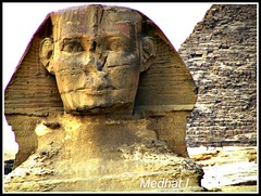 "Profile of the Great Sphinx II On the Giza Plateau! [EXPLORED; Aug 20, 2011]  ""A Prayer for Egypt is in Order!!"" (medaibl) Tags: egypt pyramids giza greatsphinx mywinners medhathi mygearandme mygearandmepremium mygearandmebronze mygearandmesilver mygearandmegold mygearandmeplatinum mygearandmediamond ringexcellence dblringexcellence tplringexcellence eltringexcellence"