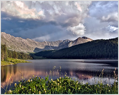 Sunset Storm Over Clinton Gulch (glness) Tags: colorado rockymountains clintonlake tenmilerange clintongulch wheelermountain clintonpeak gregness bartlettmountain