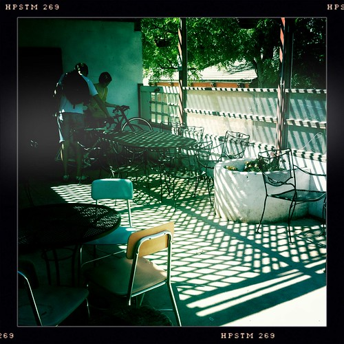 Patio at the Alley Cat
