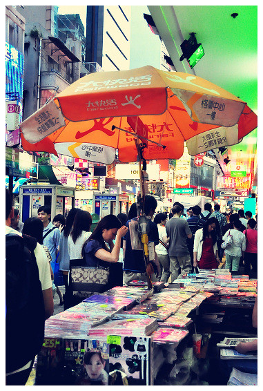 Shopping in Mong Kok