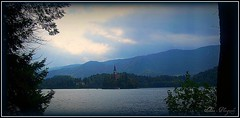 Lake Bled in the evening (Sz Alex) Tags: evening slovenia bled bledisland