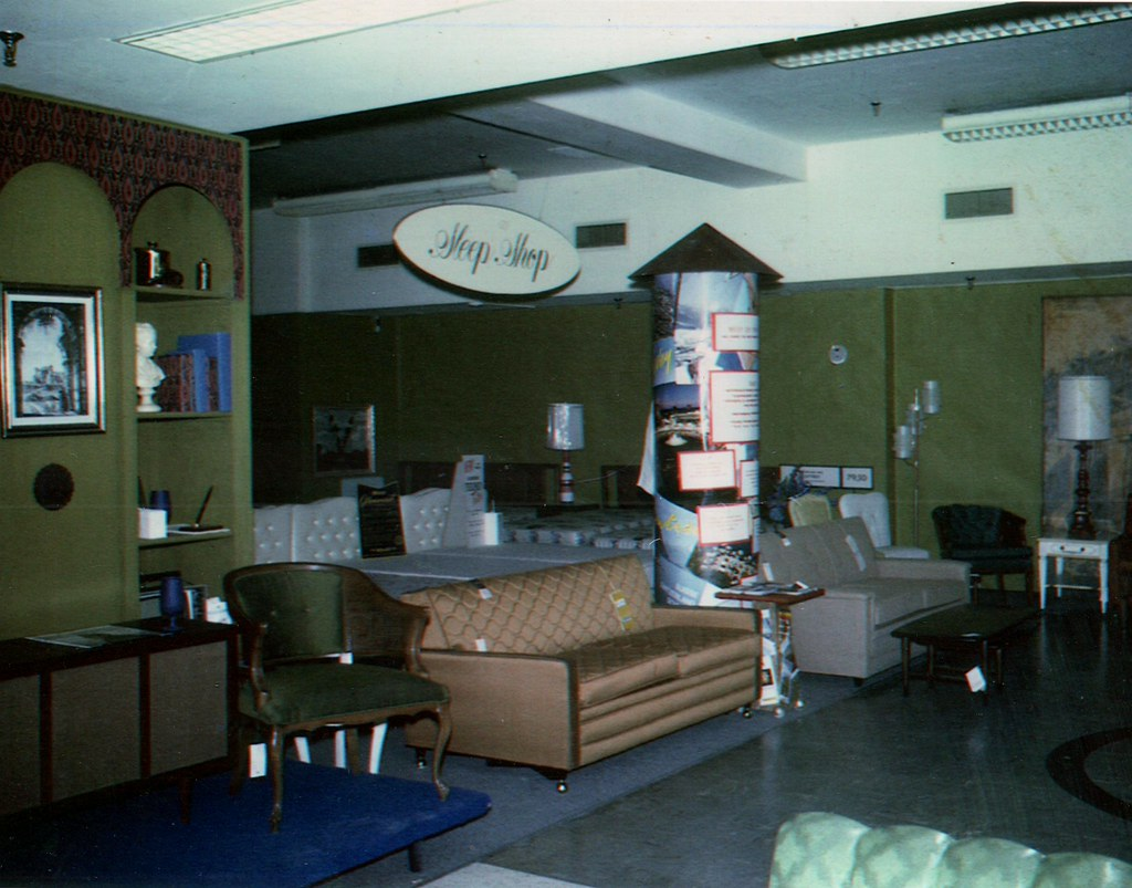 Furniture Department Richards 1960s