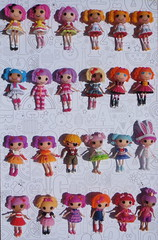 My Mini Lalaloopsy Collection {Explored} (The Blythe Banner) Tags: sahara misty marina pepper berry bea blossom mini spot dot sugar pillow collection cotton peanut patch sunnyside mittens tippy jewel lalaloopsy