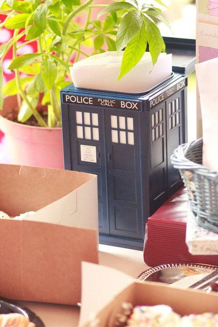 TARDIS Card Box
