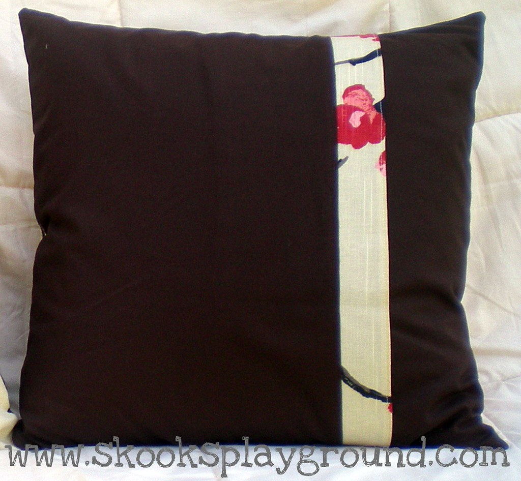 Cherry Blossom Pillow Back