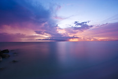 Sunset (XxJasonMichaelxX) Tags: ocean longexposure sunset sky beach night clouds canon sand florida sanibel 1022 captivaisland 450d muckyducks