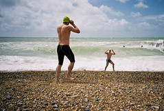 stance (lomokev) Tags: sea sky beach sport clouds swimming swim brighton waves stones rough swimmers deletetag brightonswimmingclub simoncooke shotonhscourse roll:name=110618lomolcareala file:name=110618lomolcareala18
