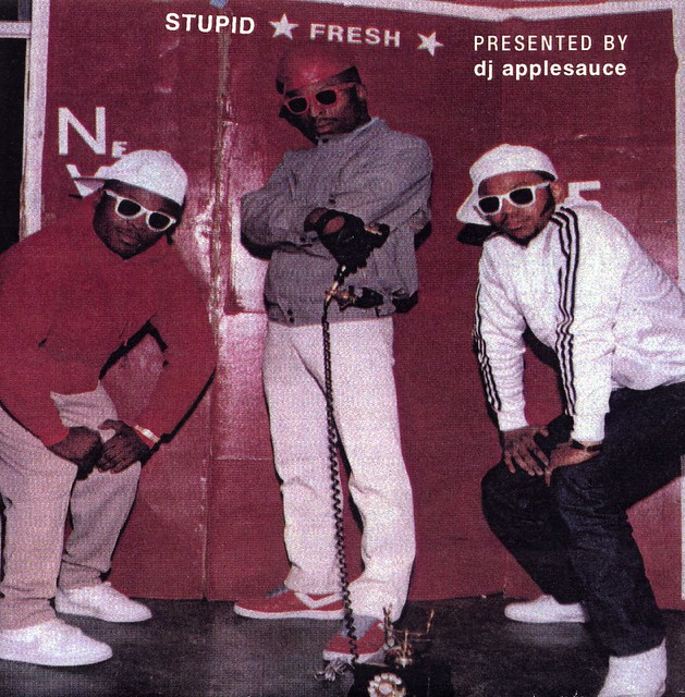 dj applesauce presents: stupid fresh (cover art)