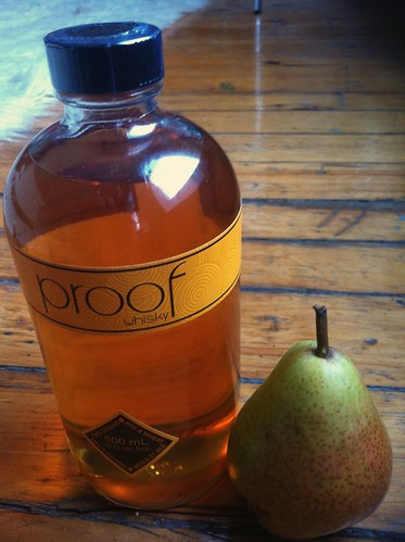 Pear Slices Preserved in a Light Syrup... and Whisky Whisky Preserving Recipes Pear