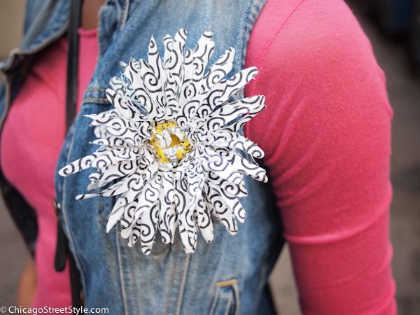 Kyciana brooch
