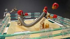 C3 POOOOWWWWWW (Legoagogo) Tags: england star robot starwars lego wars boxing c3po chichester afol legoagogo