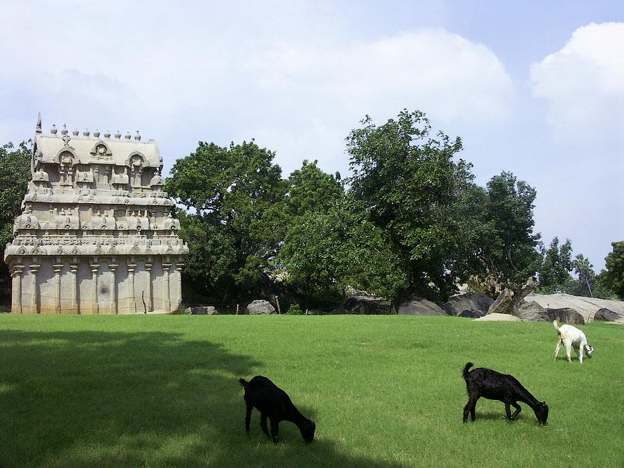 Ганеш ратха. Мамаллапурам (Махабалипурам), Индия © Kartzon Dream - авторские путешествия, авторские туры в Индию, тревел видео, фототуры