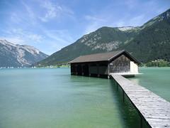 Am Achensee. (Cherry Coke 90) Tags: alps austria sterreich wasser alpen blau achensee seespitz