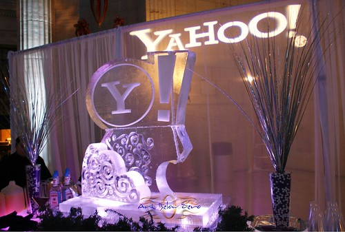 Yahoo Ice Sculpture