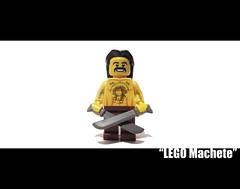 LEGO Machete (AKA Danny Trejo) (felt_tip_felon) Tags: film lego mexican machete hollwood dannytrejo