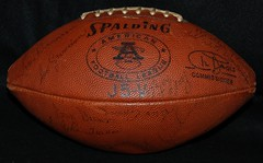 1966 Chargers Team Signed Ball