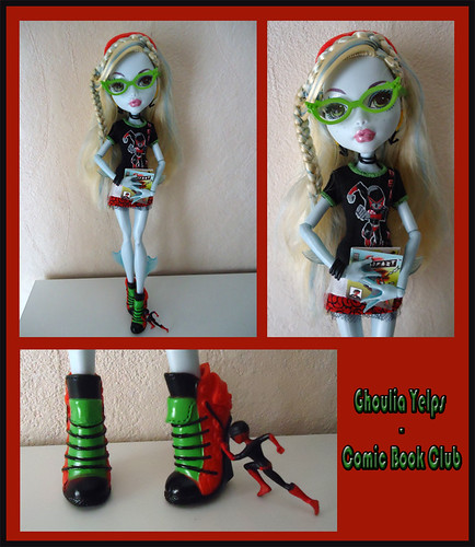 "Set ""Ghoulia Yelps - Comic Book Club"" by tatadelacasa"