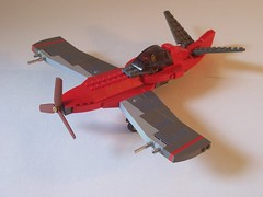 Pre-Flickr Favorites 3: Naginata Fighter (Thrawnie) Tags: lego crimsonskies skyfi dieselpunk dieselpulp