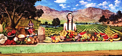 Fruit of the Field (twbphotos) Tags: streetart mural downtown elpaso barrio stantonstreet terrybell twbphotos matasfruitstand