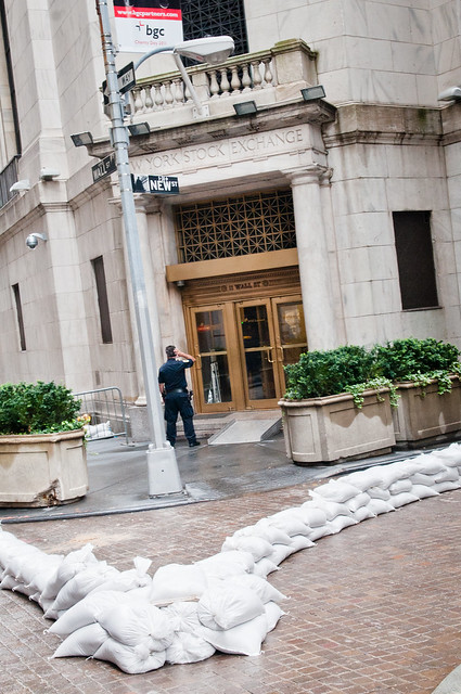 Hurricane Irene - New York Stock Exchange