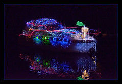 River Festival (Full Moon Images) Tags: light saint st festival river lights boat great led ouse cambridgeshire ives