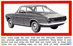 Simca Coupe 1000 1966 USA Euro Brochure (njsimca) Tags: usa euro 1966 delivery brochure 1000 simca