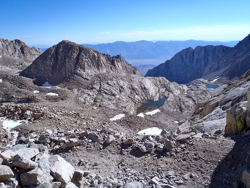 High Above Whitney Trail Camp