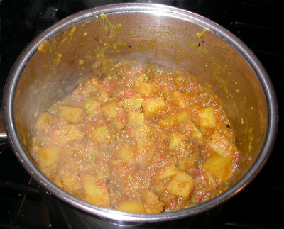 Potato Curry 1