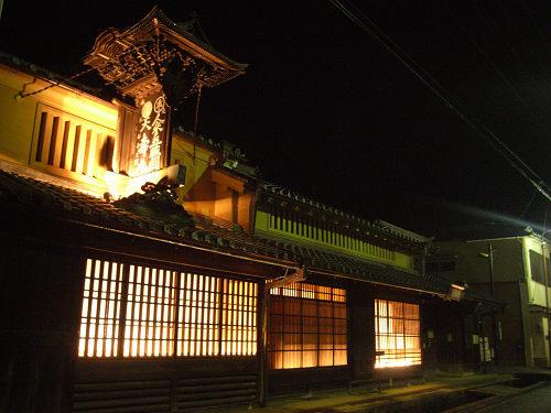 宇陀松山夢街道町並みライトアップ-06